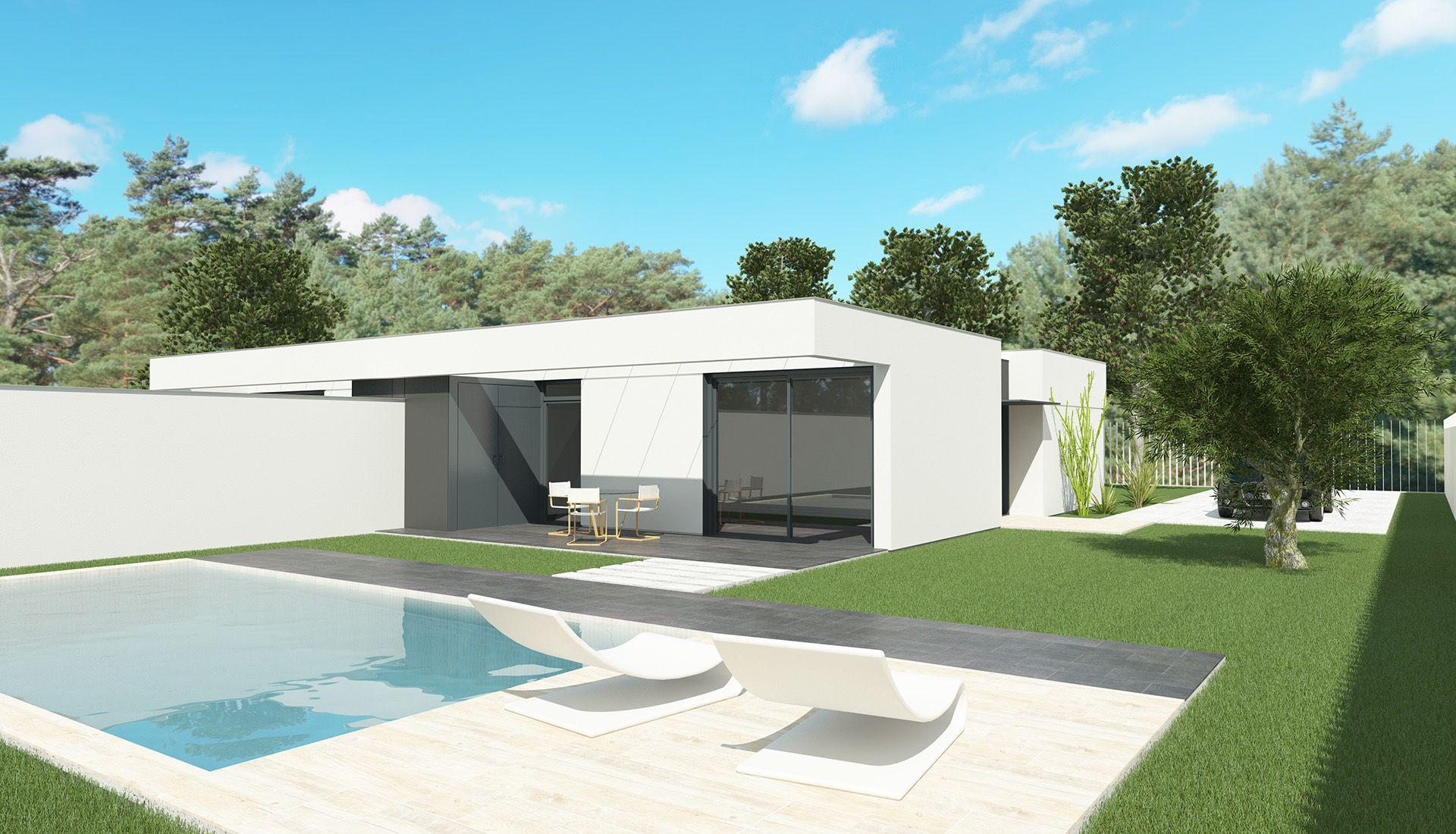 Casas de acero modulares sostenibles y prefabricadas - Catalogo casas prefabricadas ...