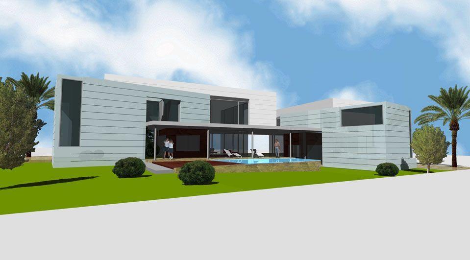 Proyecto casa acero modular prefabricada casa mar tekdom - Casas modulares de acero ...