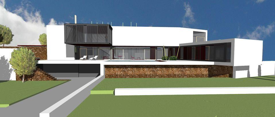 Proyecto casa acero modular prefabricada casa eva tekdom - Casas modulares acero ...