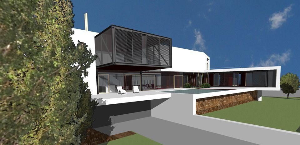 Proyecto casa acero modular prefabricada casa eva tekdom - Casa modular acero ...