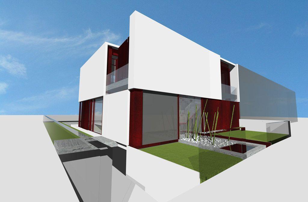 Proyecto casa acero modular prefabricada casa maria tekdom - Casas modulares acero ...
