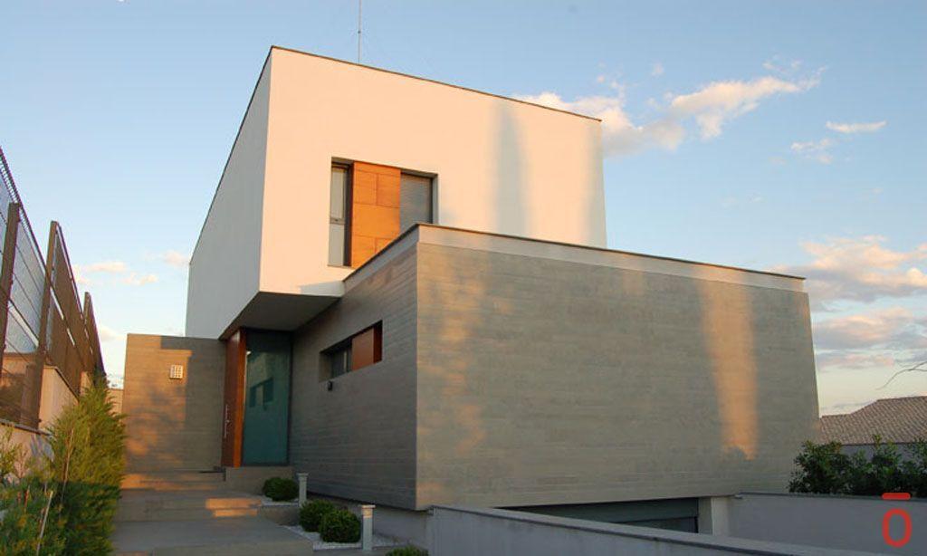 Proyecto casa acero modular prefabricada casa elda tekdom - Casas modulares acero ...
