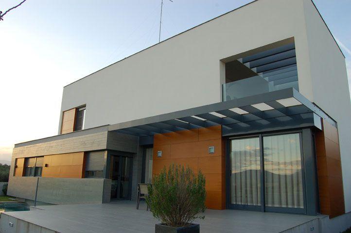 Proyecto casa acero modular prefabricada casa elda tekdom - Casas en elda ...