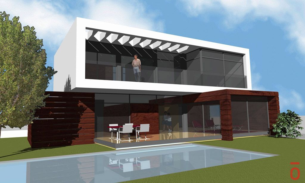 Proyecto casa acero modular prefabricada casa mirna tekdom for Casas ideas y proyectos