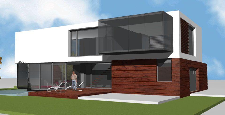 Proyecto casa acero modular prefabricada casa talia tekdom - Casa modular acero ...