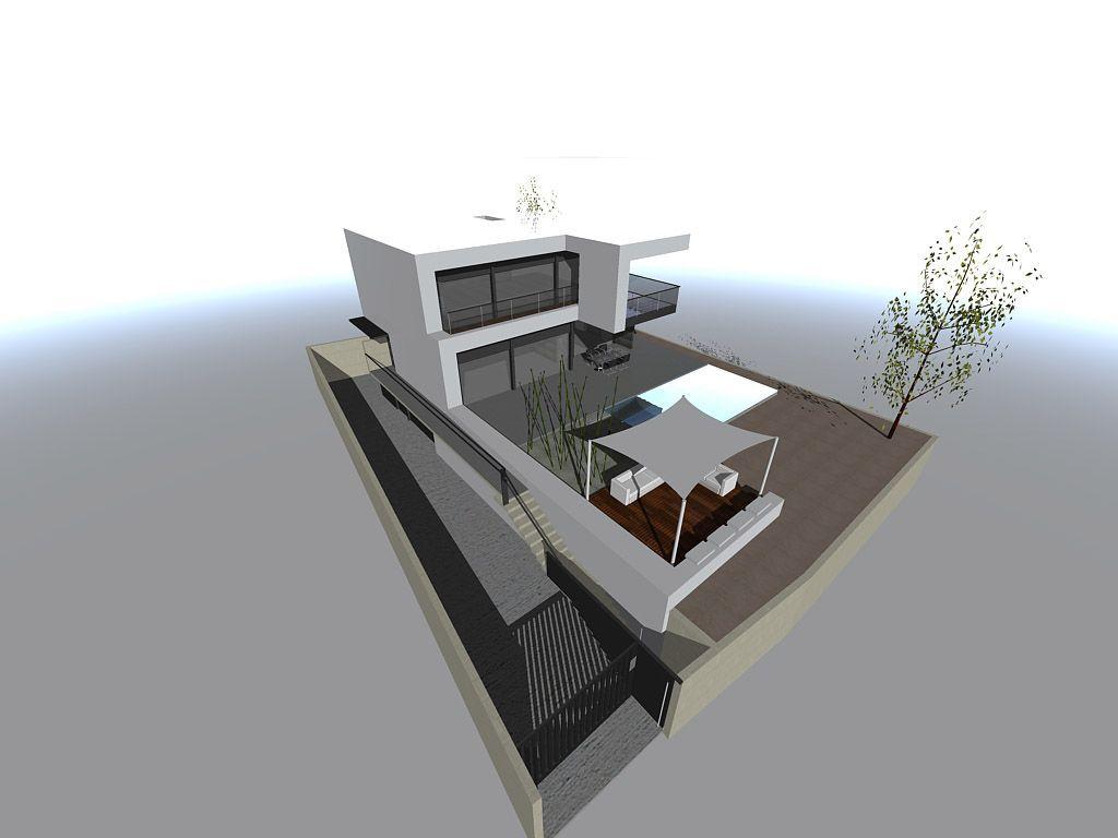 Proyecto casa acero modular prefabricada casa d nia tekdom - Casa modular acero ...