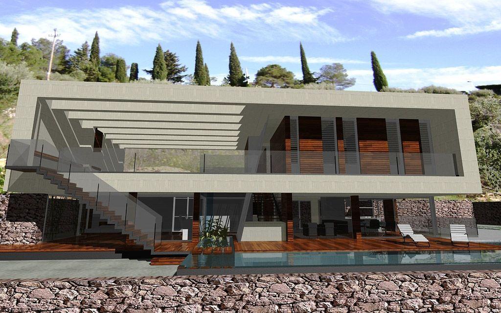 Proyecto casa acero modular prefabricada tekdom - Casa modular acero ...
