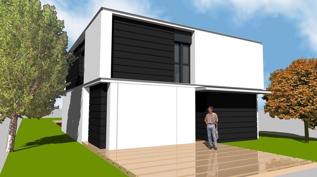 Proyecto casa acero modular prefabricada casa llum tekdom - Casa modular acero ...