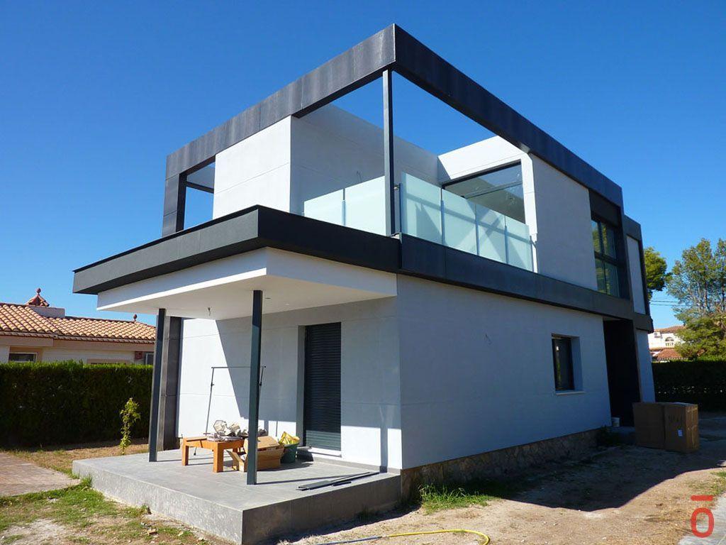 Proyecto casa acero modular prefabricada casa rakel tekdom - Acero casas prefabricadas ...
