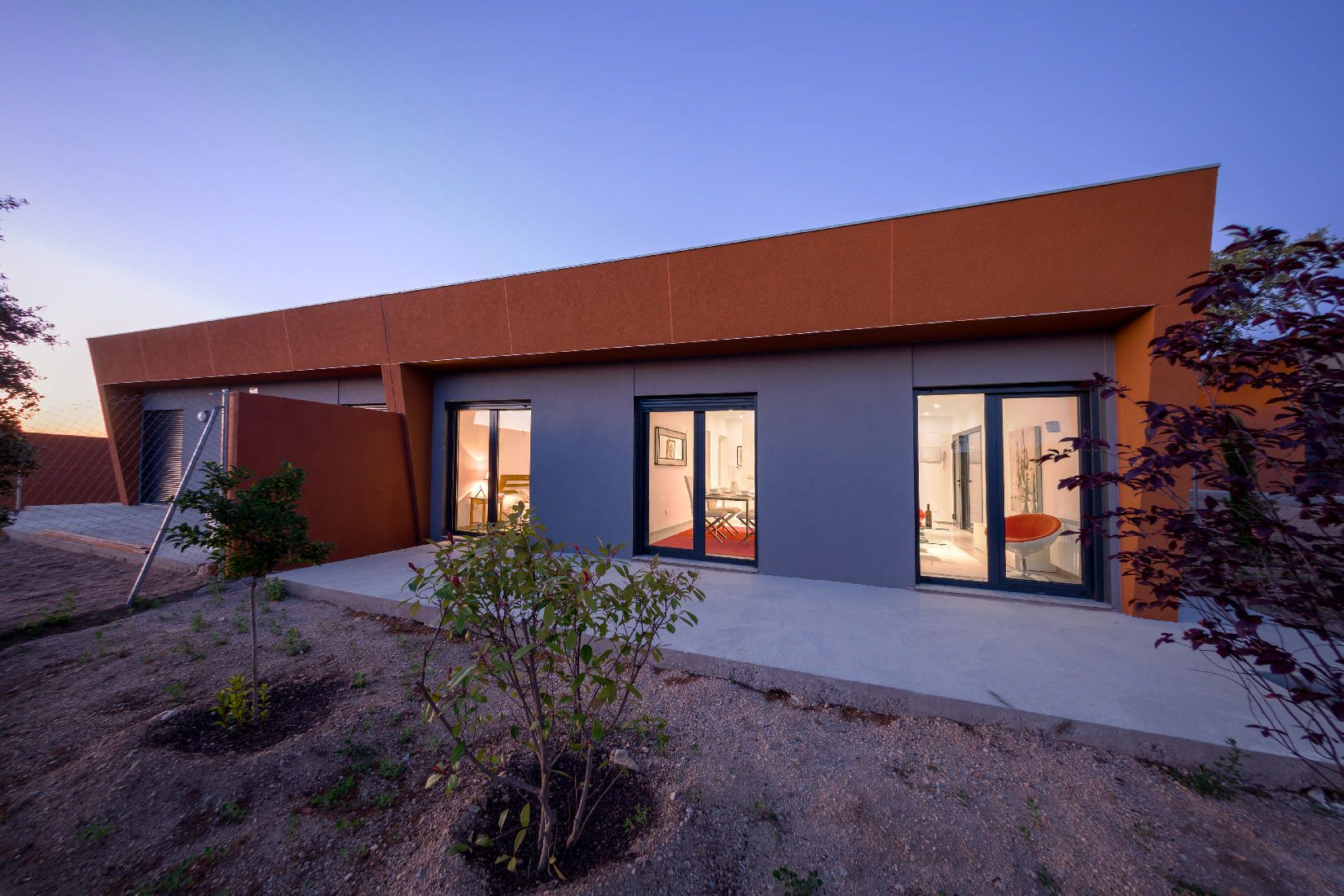 Casa Violeta - Steel modular home projects