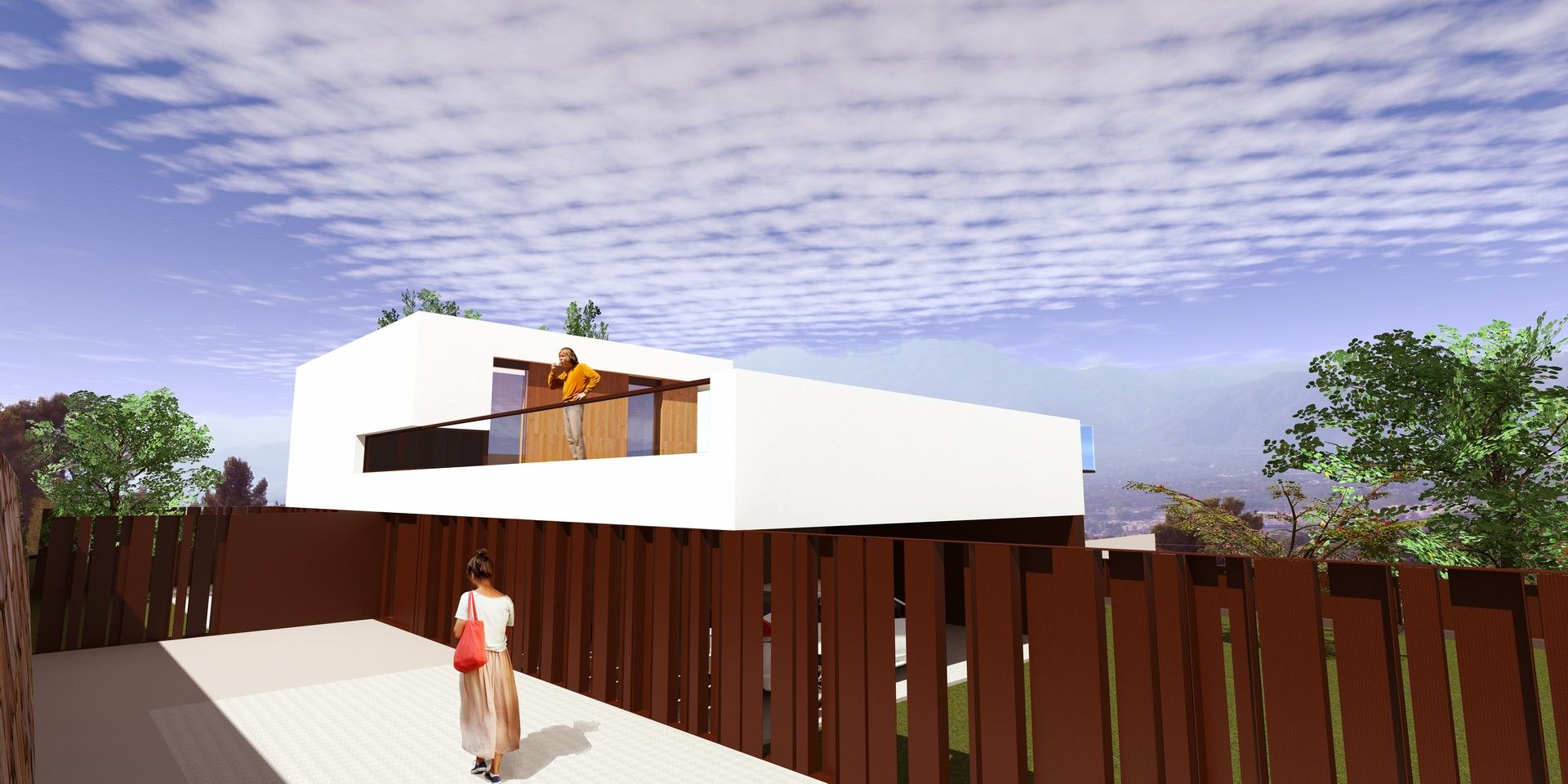Proyecto casa acero modular prefabricada tekdom - Acero modular precios ...