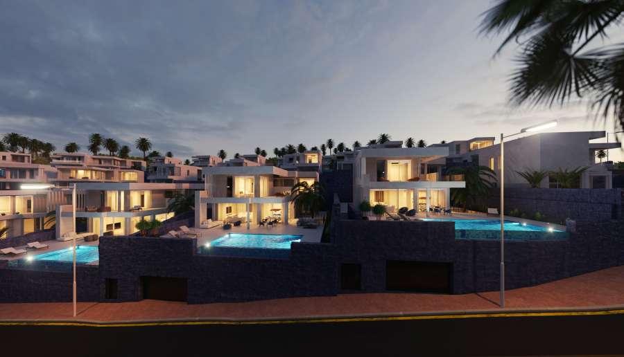 Serenity Luxury Villas Tenerife Construction of 27 luxury villas in Tenerife