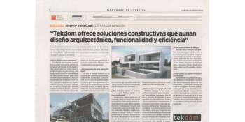 TEKDOM al suplement de TENDENCIES de La Vanguardia